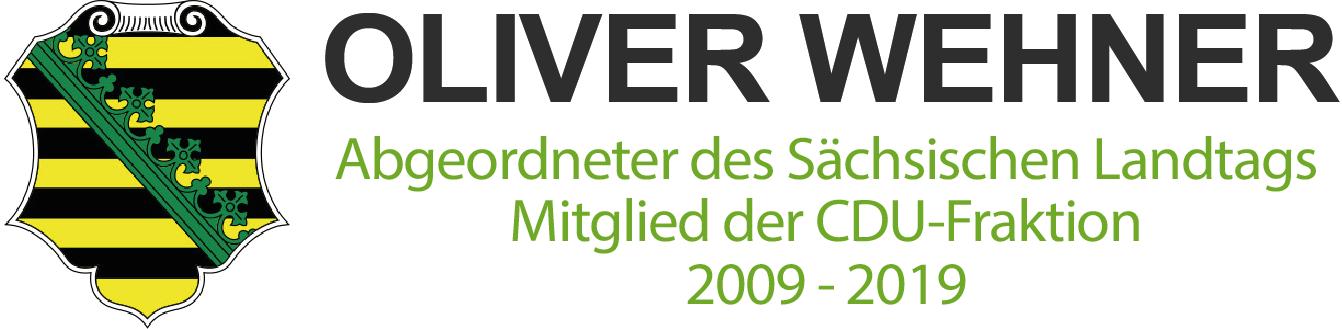 Oliver Wehner | Mitglied des Sächsischen Landtages (MdL) 2009-2019 – Wir gestalten Heimat.